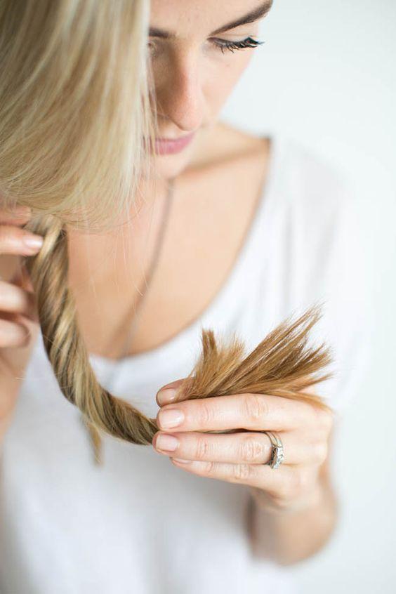 секущиеся кончики, домашние средства от секущихся концов, уход за волосами