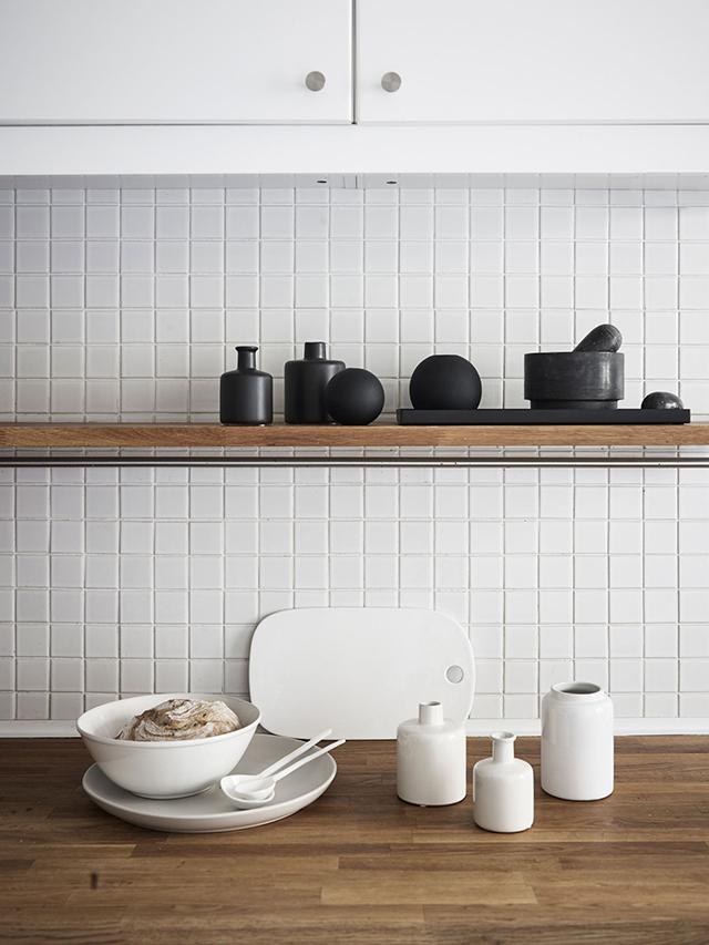 Белые винтажные вазы (60-е)