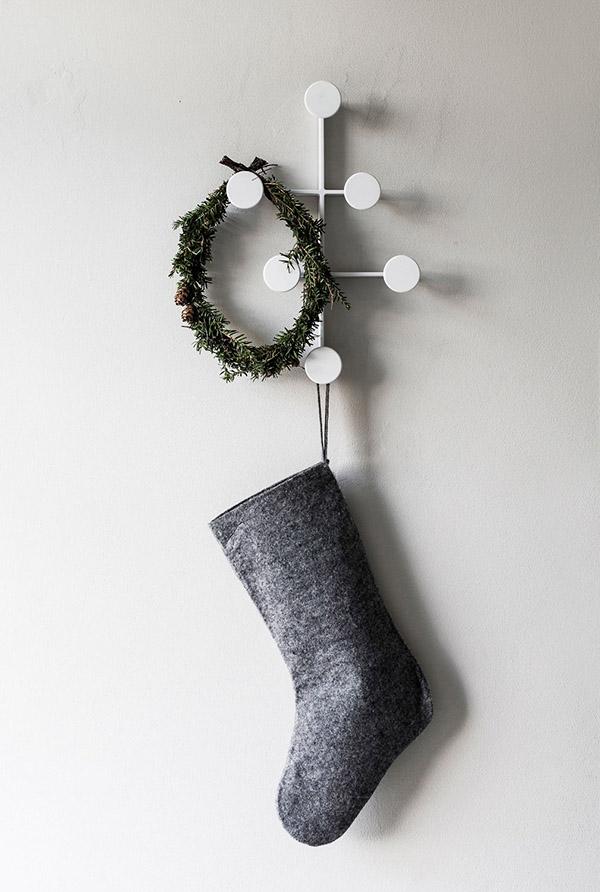 Минималистичный новогодний декор