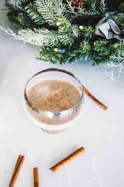 эггног - яичный зимний коктейль