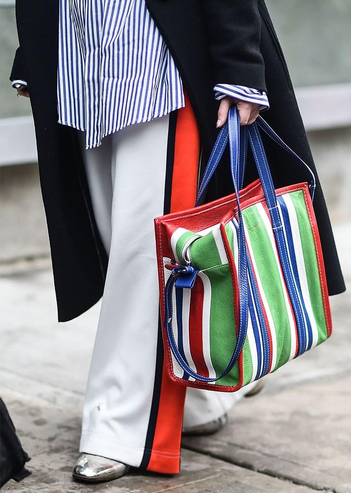 statement bag, new york street style, spring-summer 2017