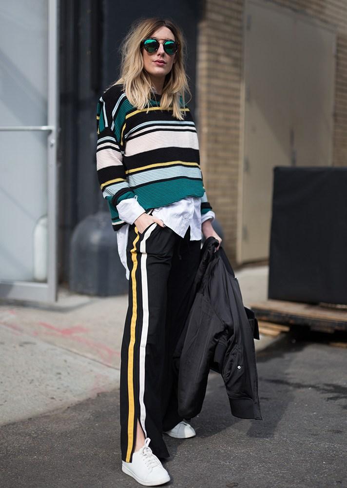 sport style, new york street style, spring-summer 2017