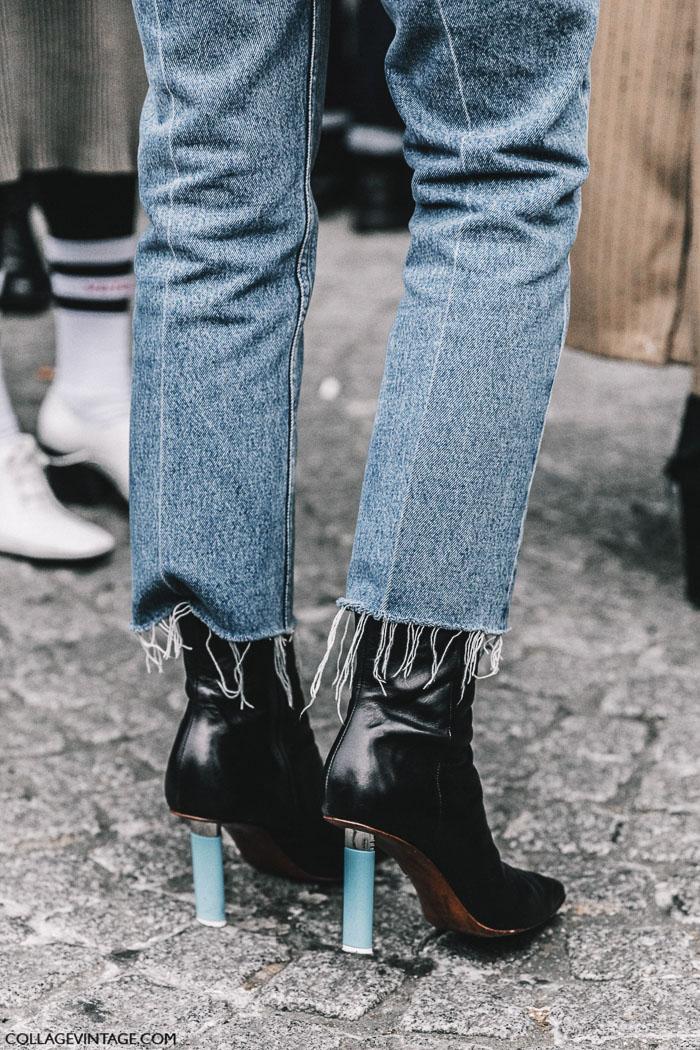 vetements jeans, джинсы ветман, parisian chic, парижский базовый гардероб