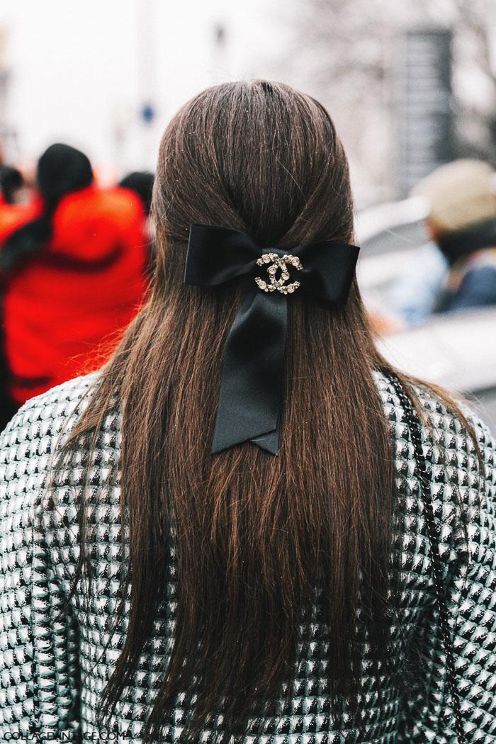 заколка шанель, parisian chic, парижский базовый гардероб