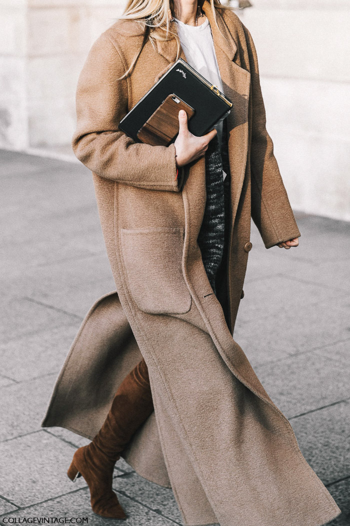 прямое пальто из верблюжьей шерсти, parisian chic, парижский базовый гардероб
