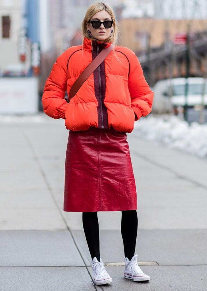 Puff coat, new york street style, spring-summer 2017
