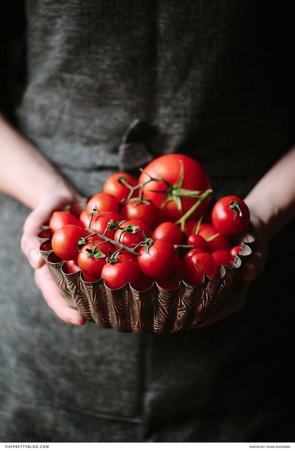 Как запечь томаты - простой рецепт!