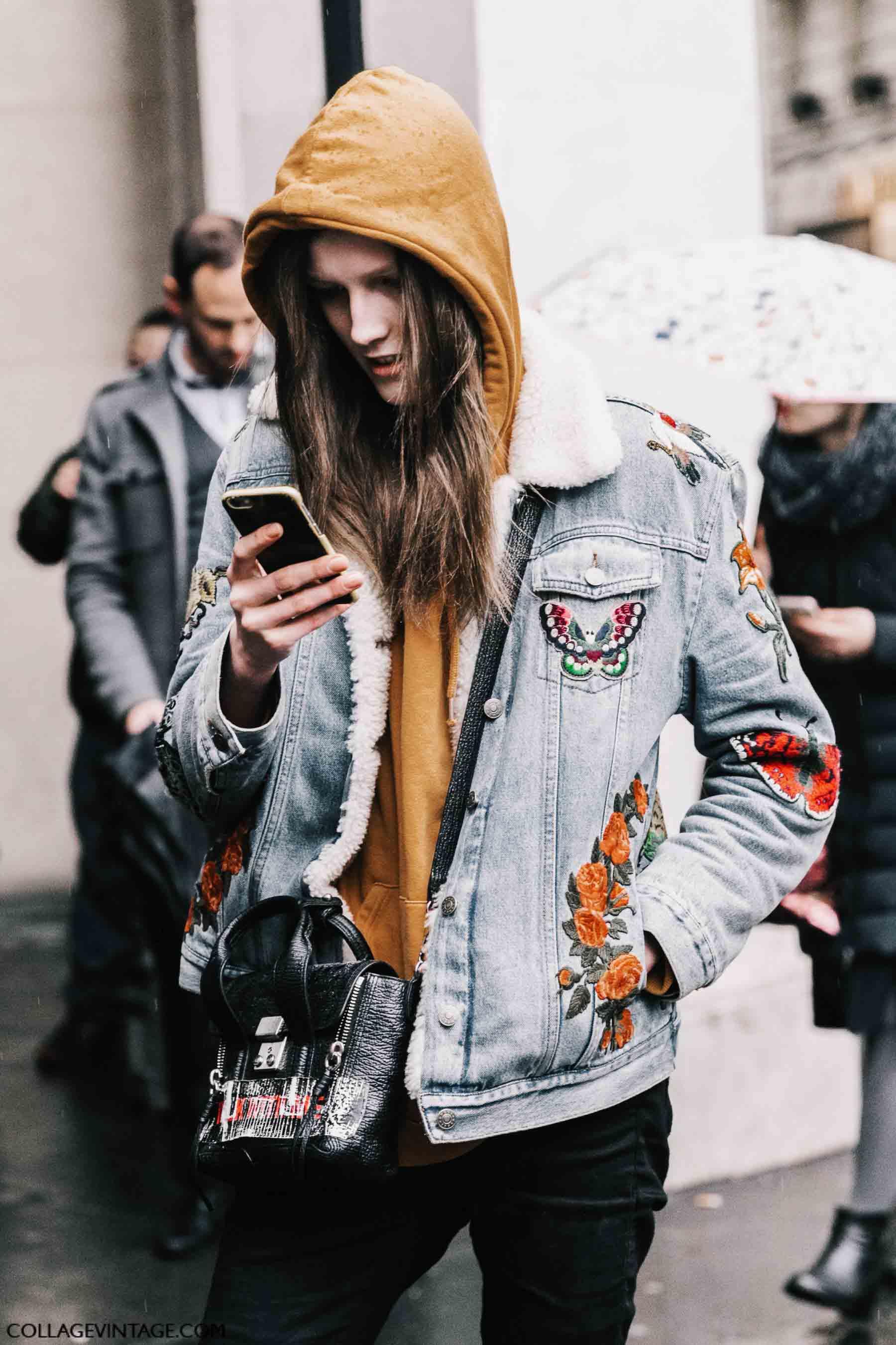 denim, парижский гардероб, parisian chic, parisian street style