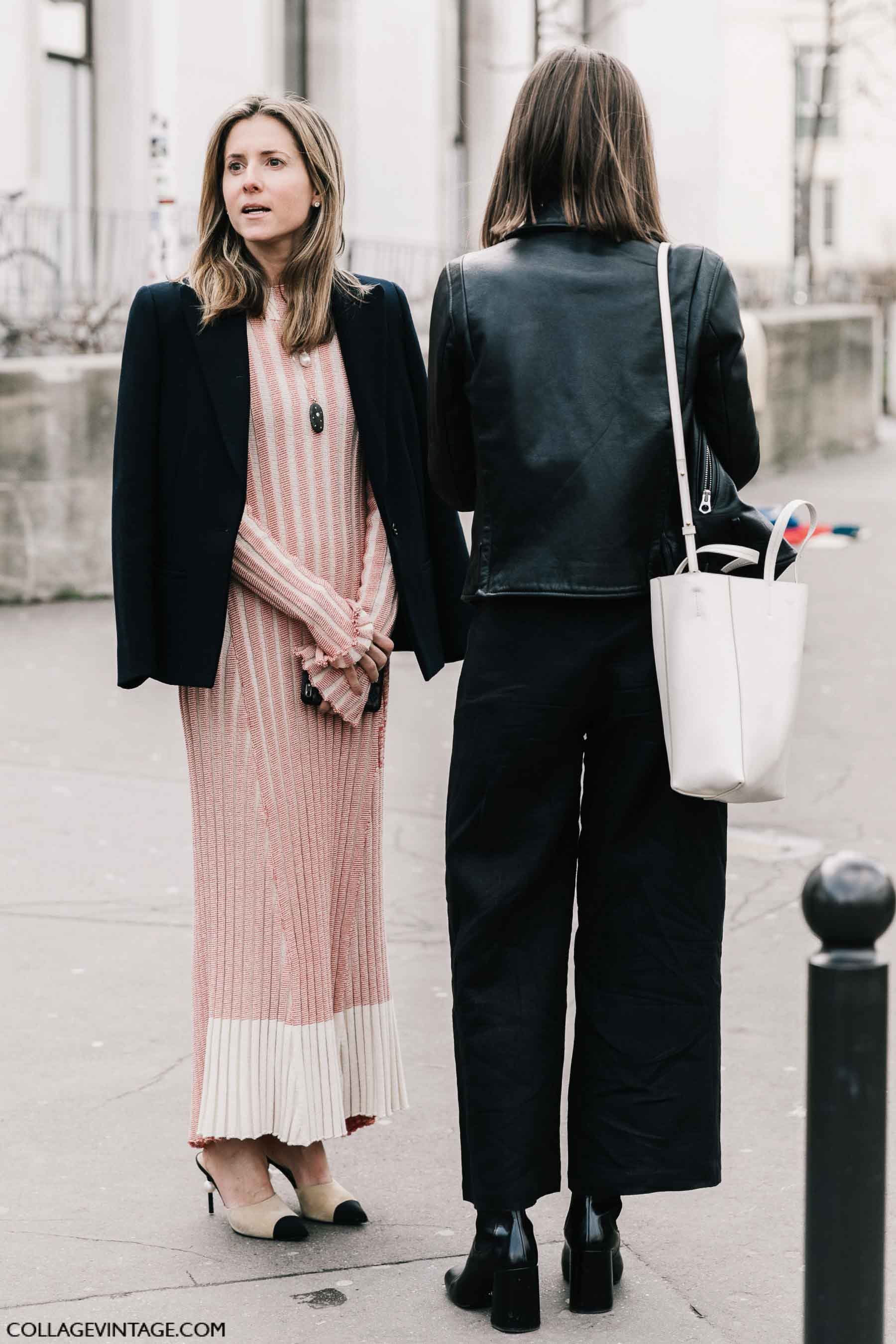 кожаная куртка, осень-зима 2017, парижский гардероб, parisian chic, parisian street style