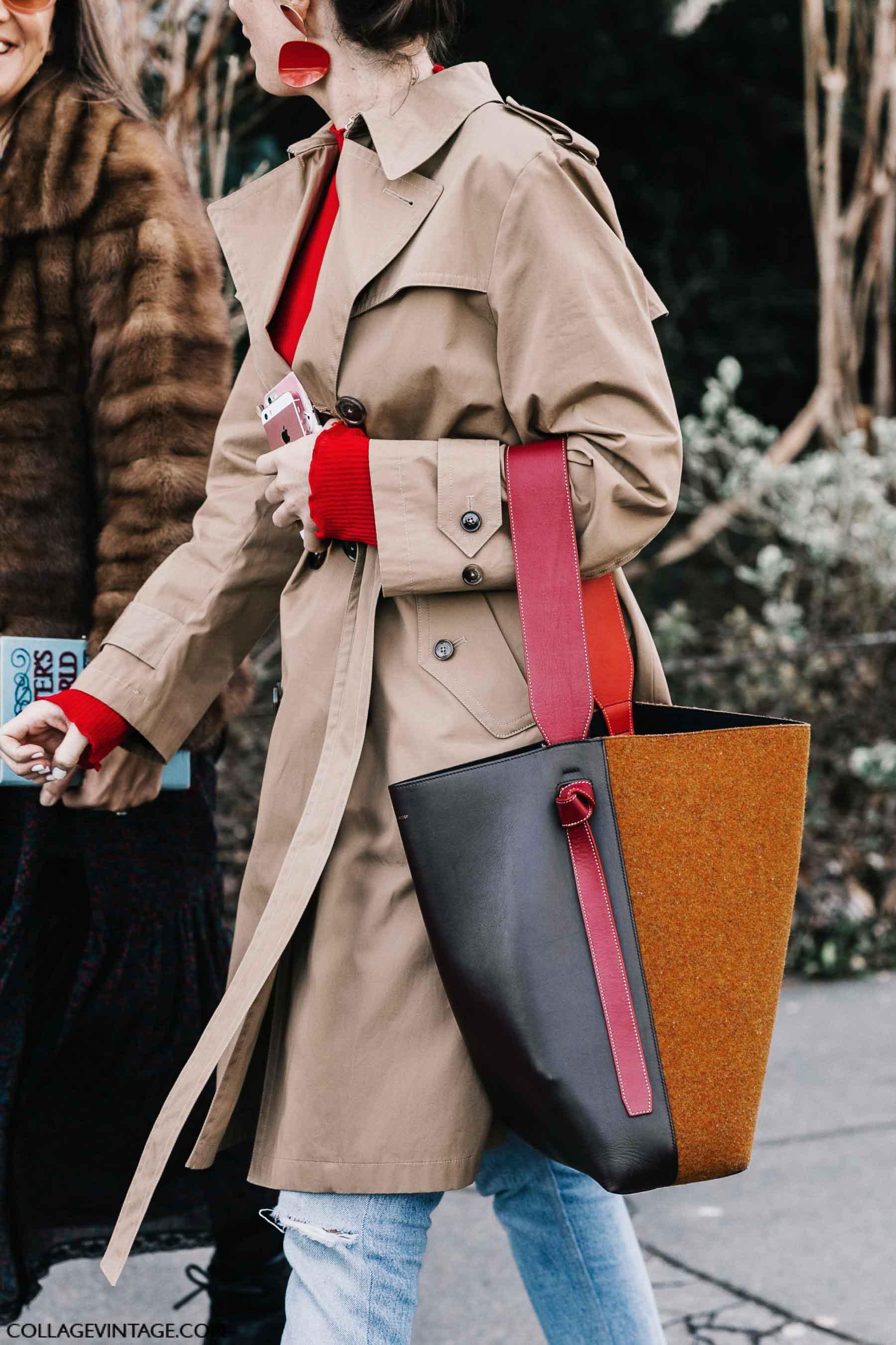 leather tote bag, осень-зима 2017, парижский гардероб, parisian chic, parisian street style