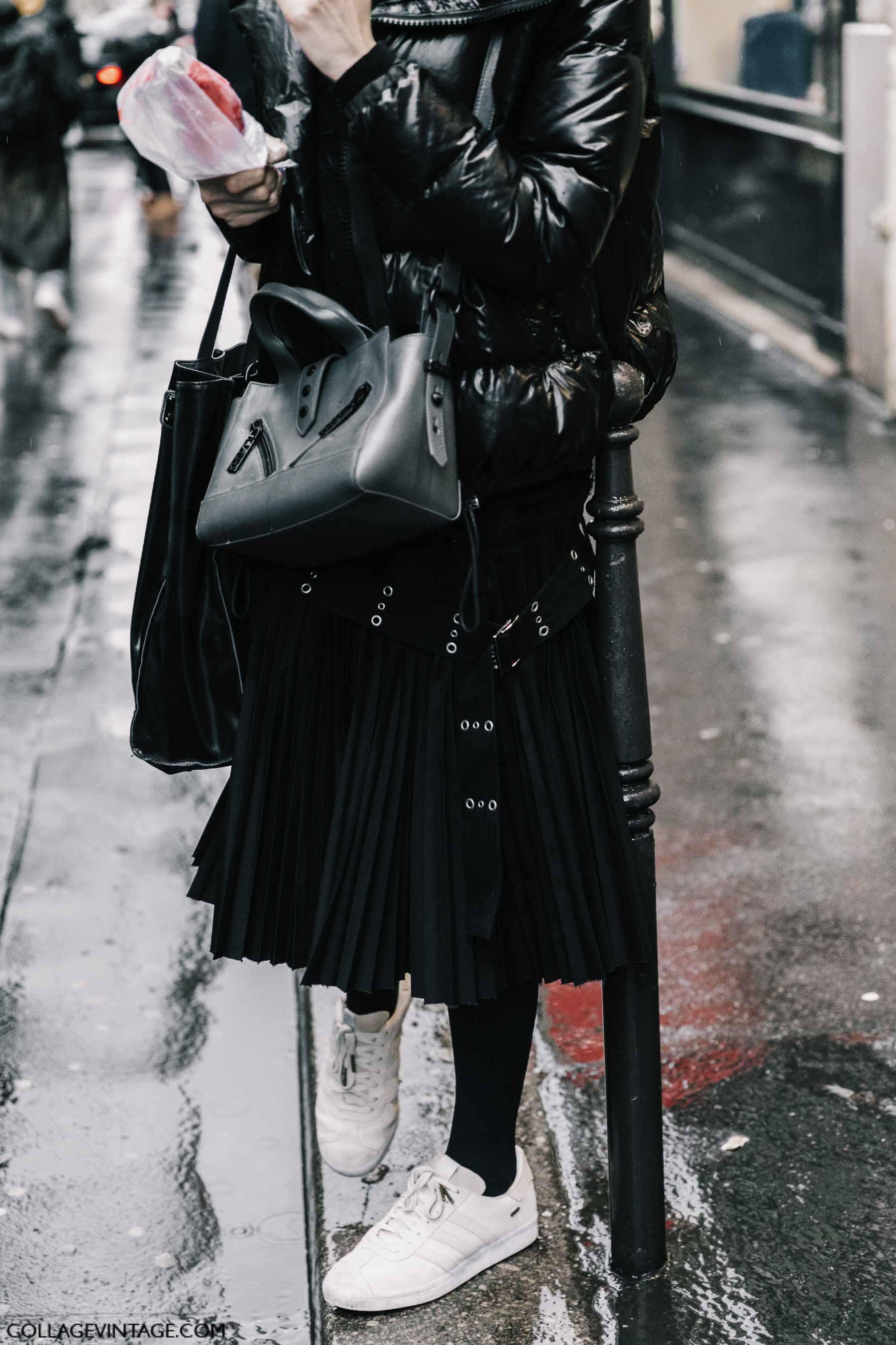 пуховик, парижский гардероб, parisian chic, parisian street style