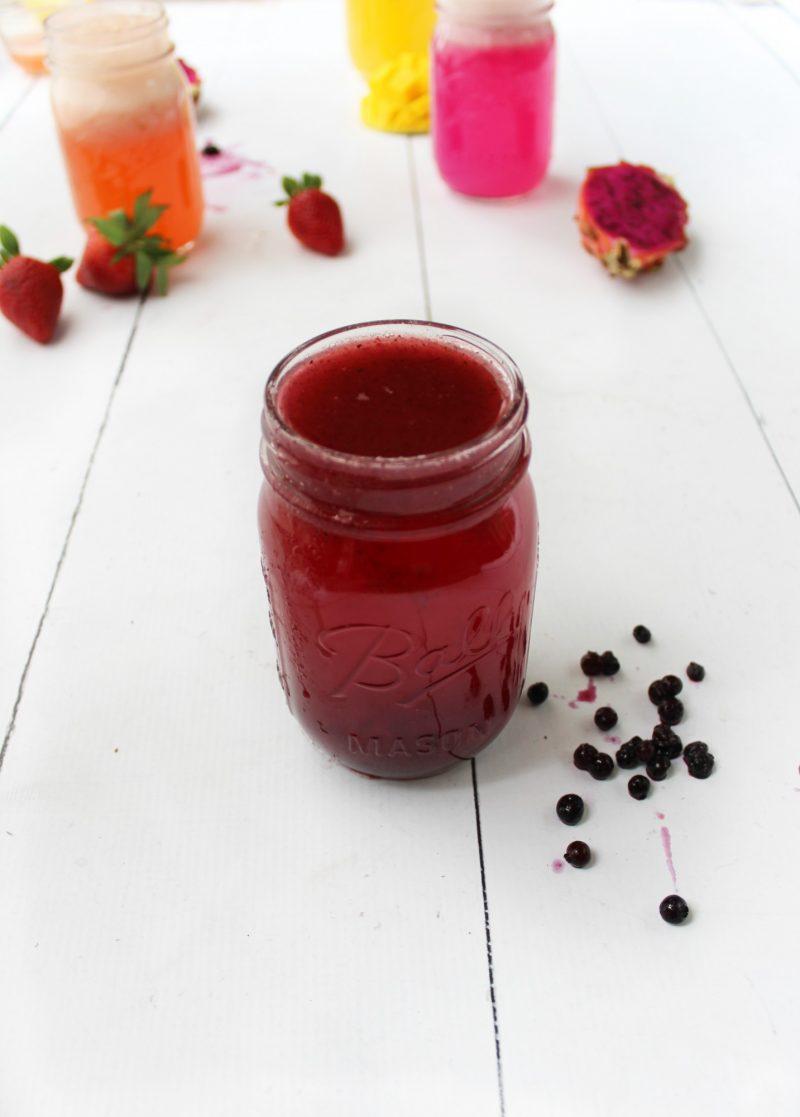 «Волшебный пендель» вашему метаболизму: digestive tonics с фруктами и уксусом на фото