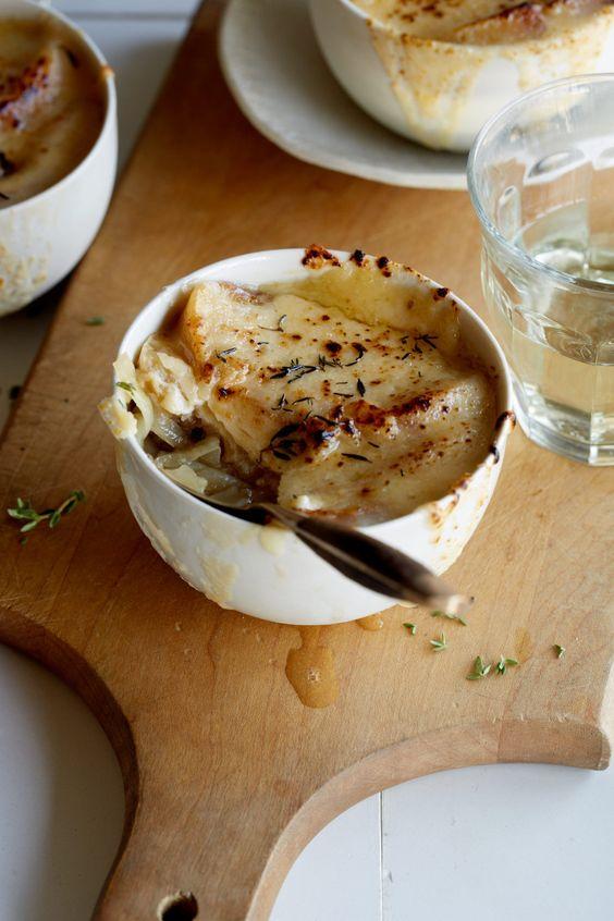 Французский луковый суп - очень простой рецепт
