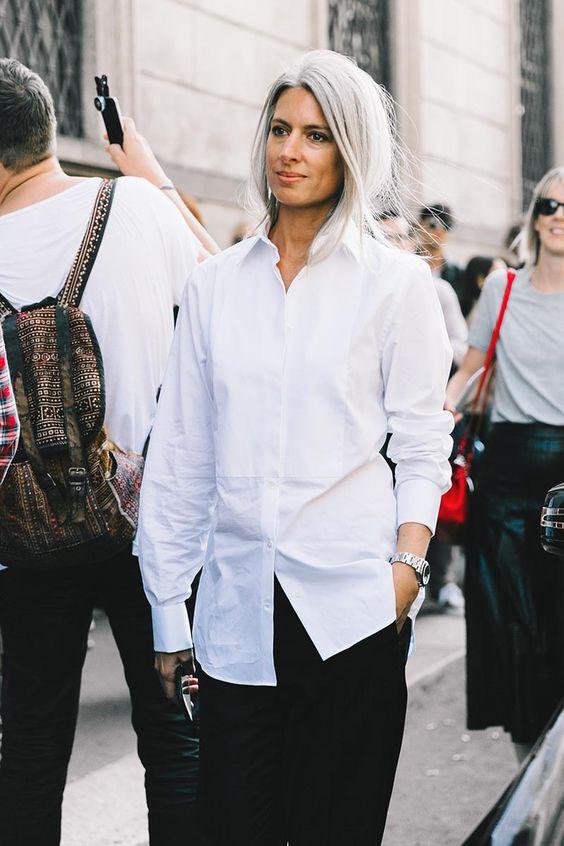 предметы базового гардероба, белая рубашка