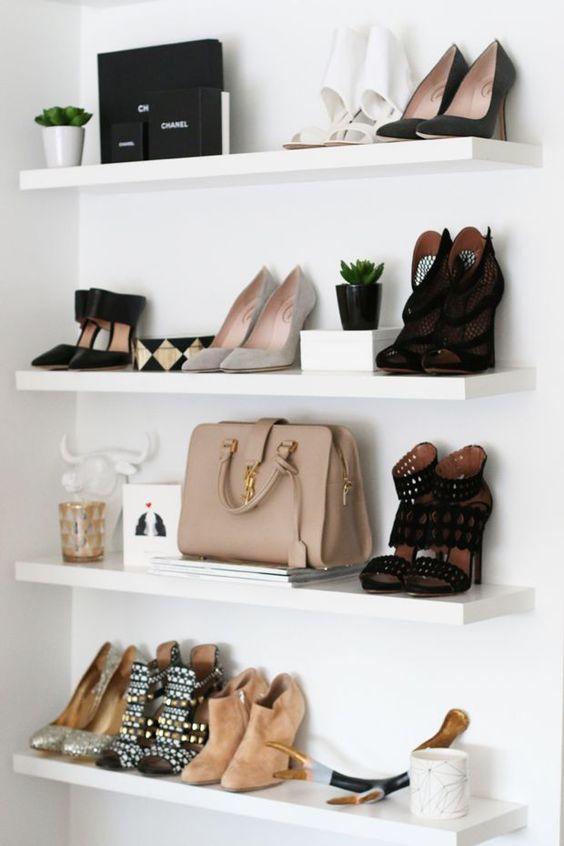 как хранить туфли - идеи для организации гардероба