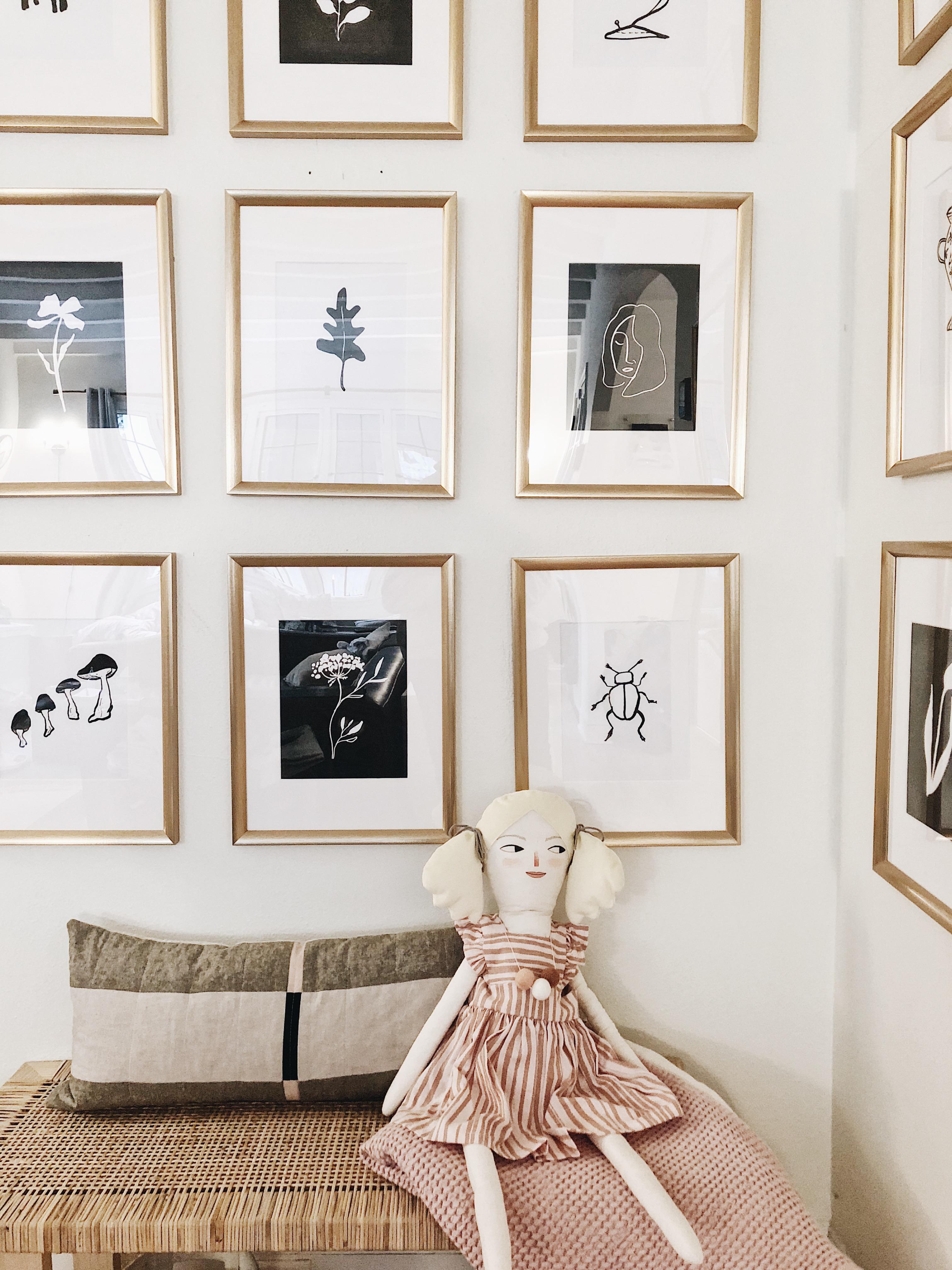 Весенний make-over: 11 идей для вашей настенной галереи на фото