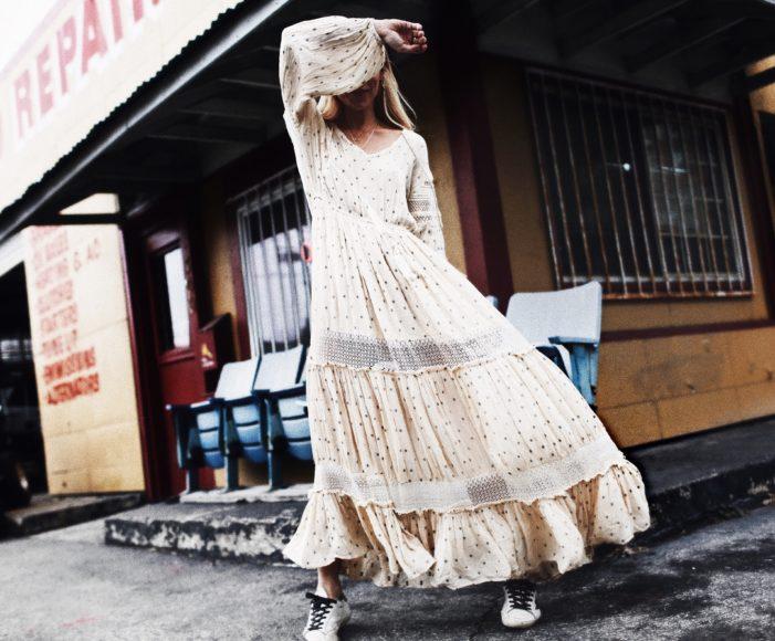платье макси лето 2018, happily grey