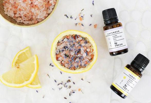 Наполнить дом свежестью: средиземноморские цитрусовые арома-чаши