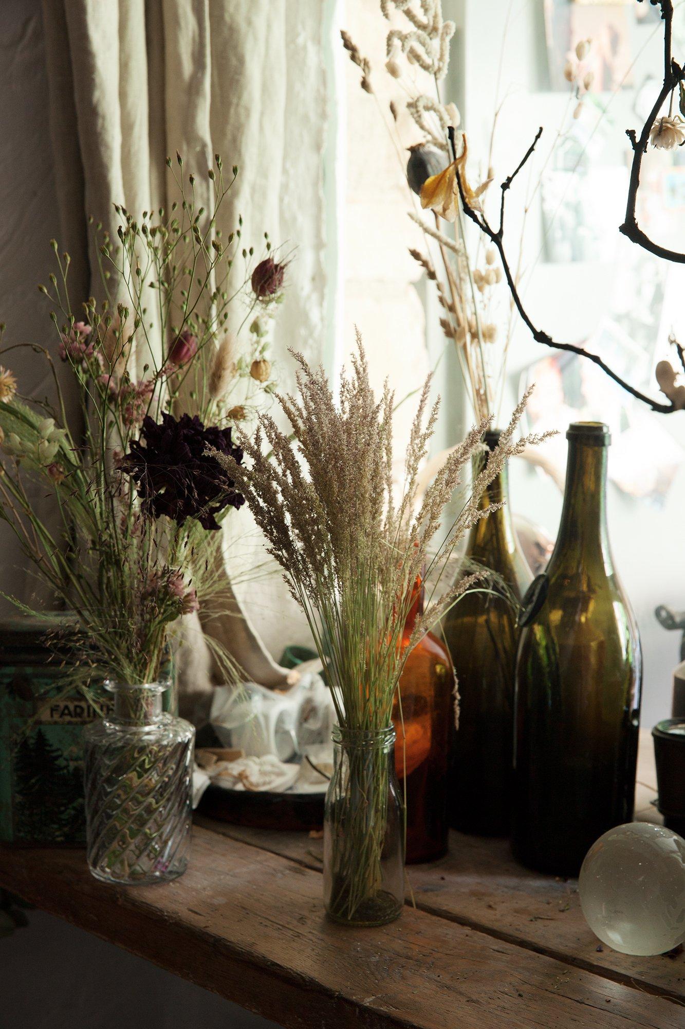 Хрупкая и вечная: красота сухих цветов от Jeanne Paris - Дом