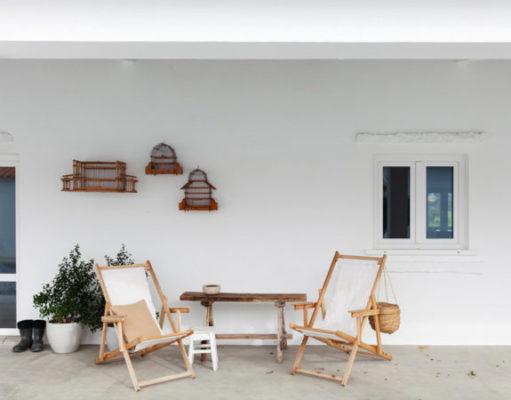 Интерьер в бежевой гамме: дом в Португалии