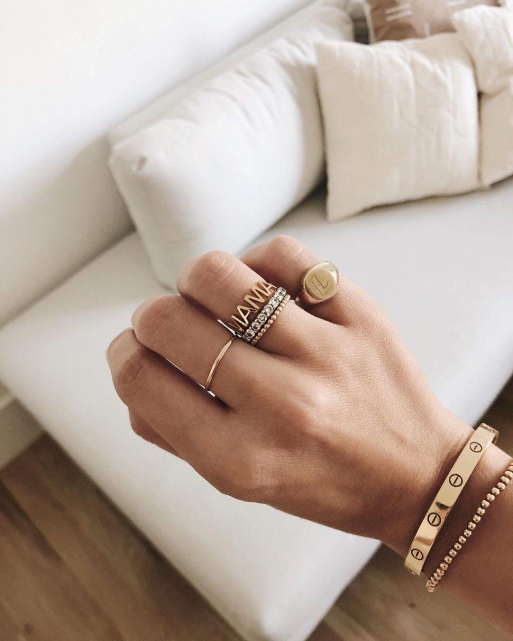 Бижу-тренды: как носить кольца этой зимой - Дом
