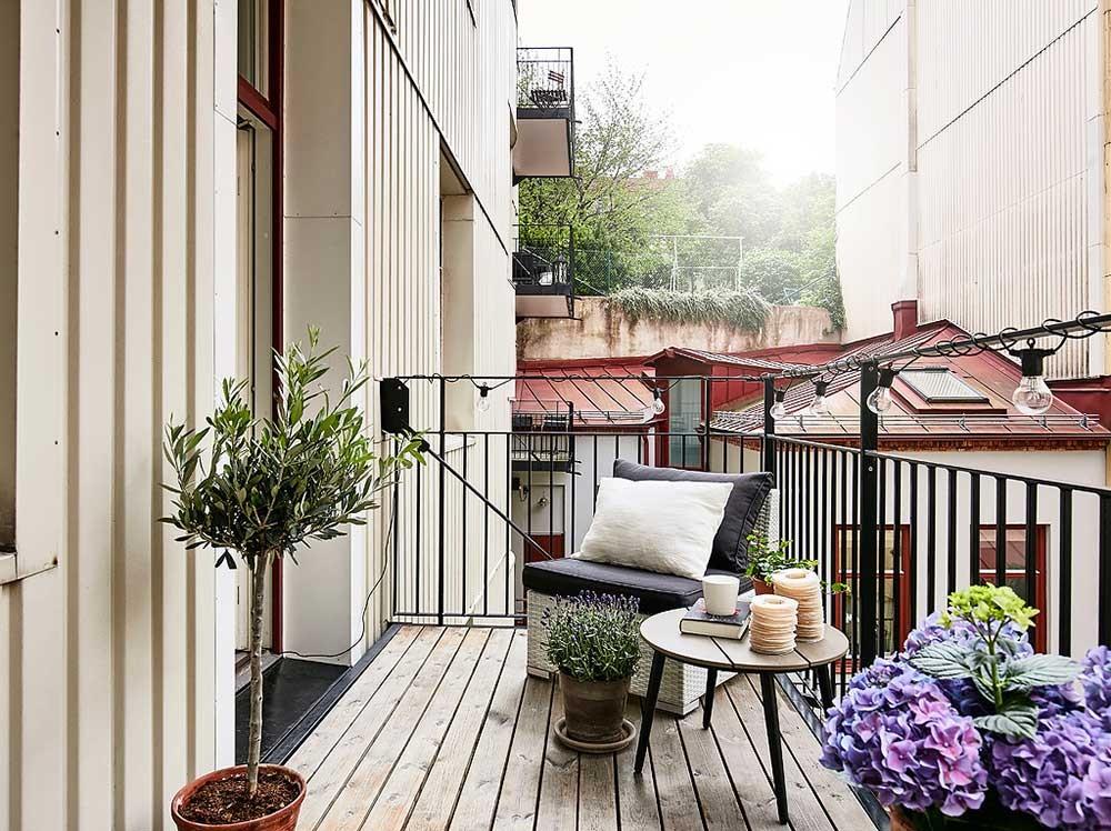 Скандинавский дизайн: норвежские балконы - Дом